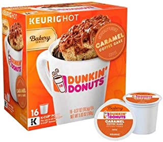Dunkin Donuts Caramel Coffee Cake Keurig K-Cups (16 count)