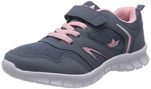 Lico Skip VS Mädchen Sneaker, Grau/ Rosa, 37 EU