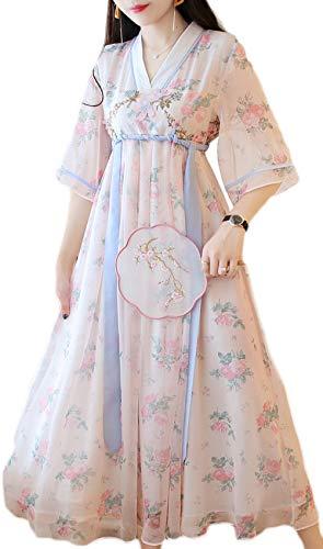 Wamvp Frauen Alten Chinesischen Traditionellen Hanfu Kleid Cosplay Kostüm