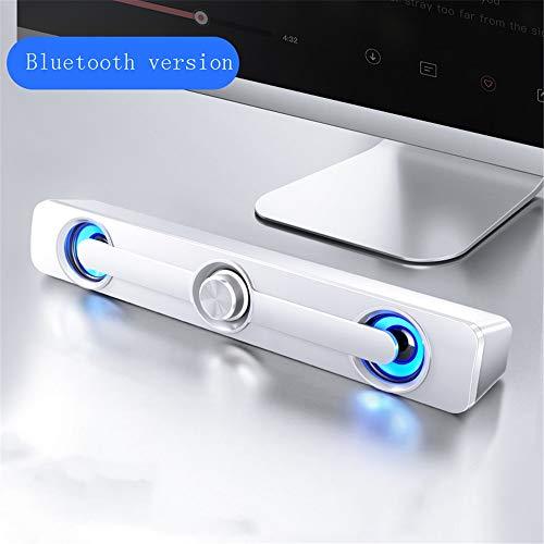 Bluetooth Speaker Computer Desktop Thuis Kleine Speaker Overgewicht Subwoofer Notebook Grote Hoorn Lange Strip Mini Draadloos, 320 x 65mm, B2