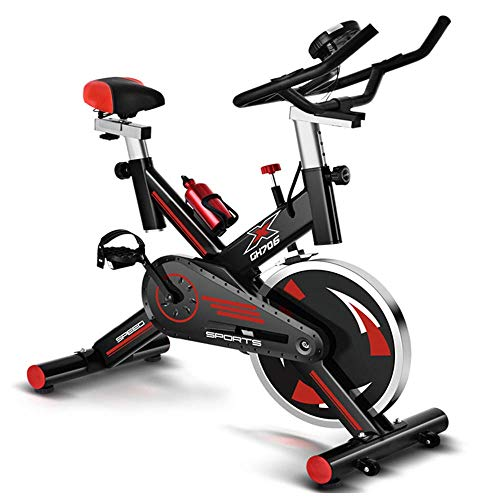 WGFGXQ Inicio Bicicleta estática Equipo de Fitness Pedal Bicicleta de Spinning para...