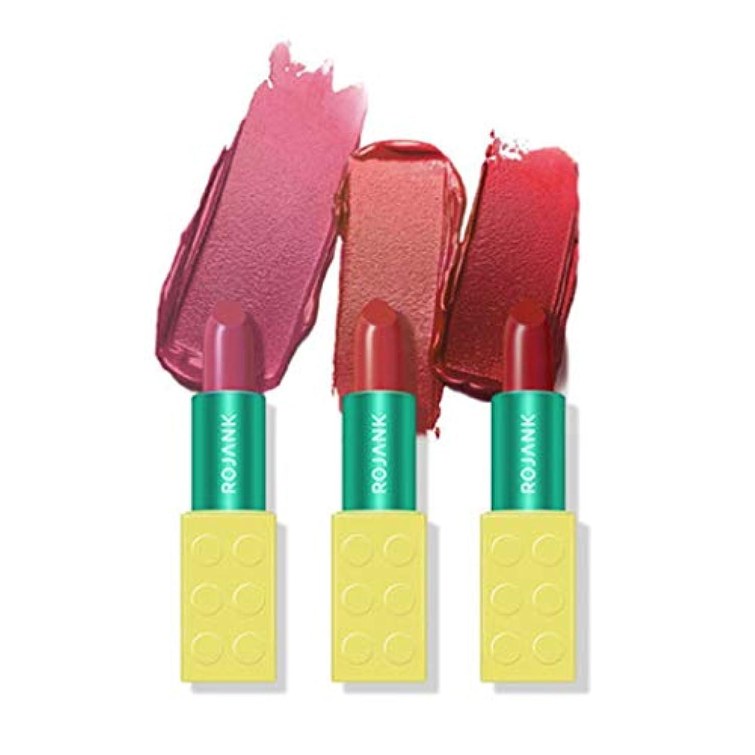 失礼急襲福祉[ROJANK/ルジャン] ROJANK MY Brick Lipstick/ルジャン マ イブリックリップスティック/Skingarden (1. STEFANI PINK)