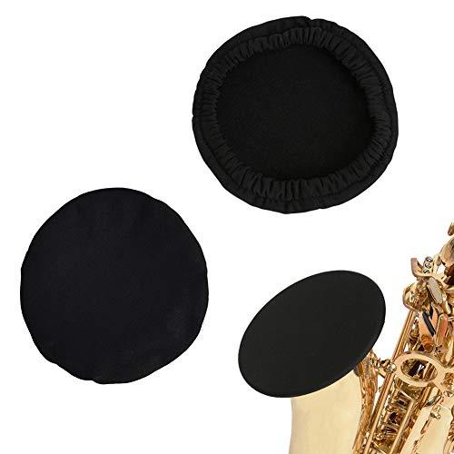 Sofecto 2 Instrumentenglocken-Abdeckung, passend für Durchmesser von 12,1–13,5 cm, geeignet für Trompete, Altsaxophon, Bass, Klarinette, Kornett.