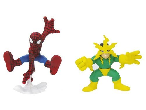 Marvel Super Hero Squad Action Figure 2-Pack - Spider-Man and Electro Action Figures