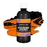 Sargent Art 16oz. Pre-Mixed Pouring Acrylic-Black Paint
