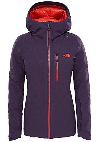 The North Face Lostrail Womens Insulated Ski Jacket, Dark Eggplant Purple Small