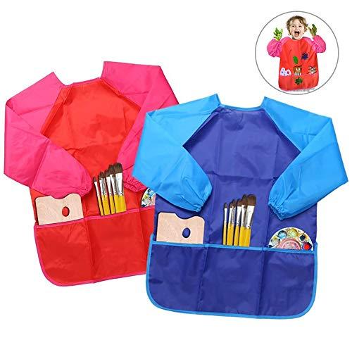 Delantales de Niños, BELLESTYLE 2 Pack...