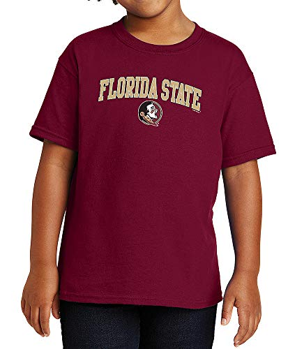 Elite Fan Shop Florida State Seminoles Kids Tshirt Varsity Garnet - Large