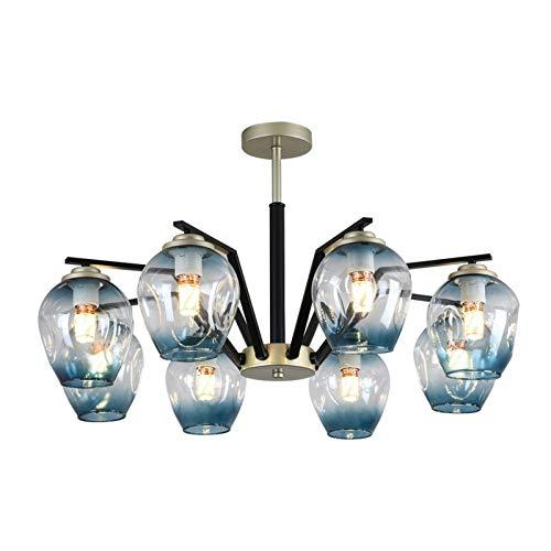 G-X Candelabro Moderno, candelabro LED Iluminación Colgante Creativa, candelabros para comedores Accesorio para Sala de Estar Comedor, Dormitorio, Sala de Estudio