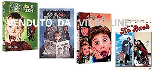 Mamma Ho Perso l'Aereo Mamma ho Riperso L'aereo Ho Allagato la Casa, Io e lo zio Buck (4 Film DVD) ITALIANO