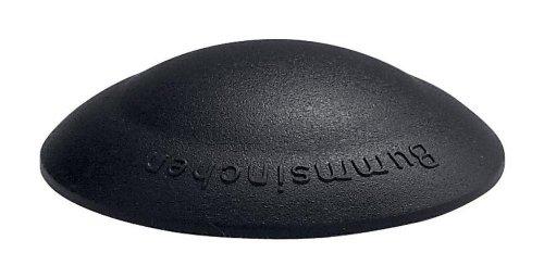 4 Stück Home Xpert Türstopper, Türpuffer kompatibel mit BUMMSINCHEN, Ø 40 mm Höhe: 12 mm, schwarz, aus Kunststoff