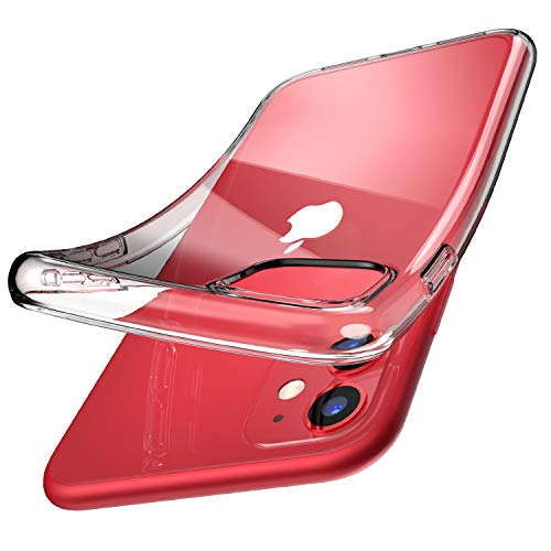 TOZO for iPhone 11 Case 6.1 Inch (2019) Premium Clear Soft TPU Gel - Transparent Flexible Cover for iPhone 11 with Clear