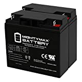 Mighty Max Battery 12V 18Ah Replaces RBC7 SU1400 SUA1500 SU700 APC Cartridge - 2 Pack Brand Product