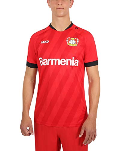 JAKO Herren Home, (Saison 19/20) Bayer 04 Leverkusen Trikot, rot, 3XL