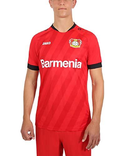 JAKO Herren Home, (Saison 19/20) Bayer 04 Leverkusen Trikot, rot, L