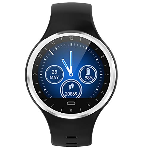 Fitness-Tracker,Fitness Tracker,Smartwatch Wasserdicht M8 Fitness Armband mit Pulsmesser Farbbildschirm Aktivitätstracker Pulsuhren Schrittzähler Uhr Smart Watch Fitness Uhr für Damen Herren