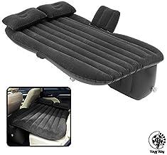 VaygWay Inflatable Car Air Mattress – Air Bed with Pump Kit – Back Seat Travel Air..