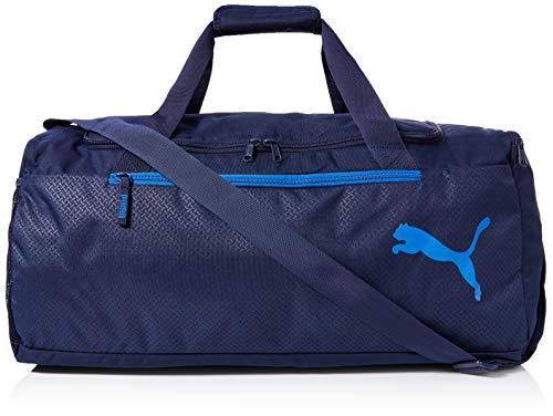 PUMA Unisex– Erwachsene Fundamentals Sports Bag M Sporttasche, Peacoat, OSFA