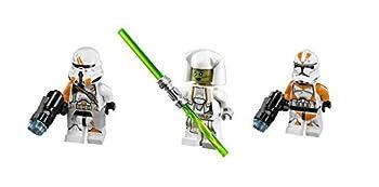 LEGO Jedi Counselor Utapau Trooper and Utapau Paratrooper Minifigures