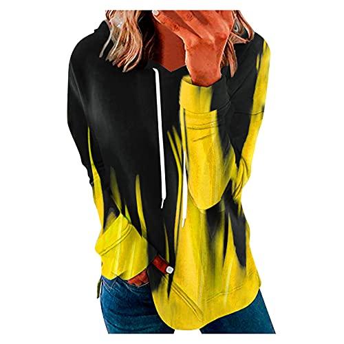 YUNGE Top Lencero Negro, Blusa Azul Marino Mujer, Camisa De Rayas Mujer, Blusas De Señora, Camisetas De Moda 2021, Blusas para Mujer Elegantes, Camisas De Lino Mujer, Camisetas Básicas Baratas Mujer
