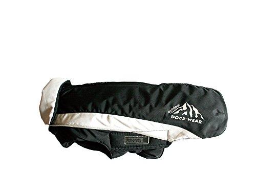 Wolters | Skijacke Dogz Wear wasserdichtem RV schwarz/grau | Rückenlänge 60 cm