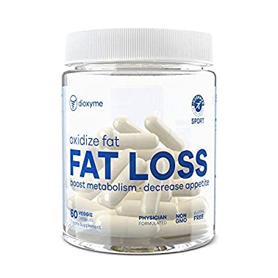 Dioxyme Fat Loss | Oxidize Fat, Natural Thermogenic, Suppress Appetite and Breaks Down Fat, 30 Day Supply
