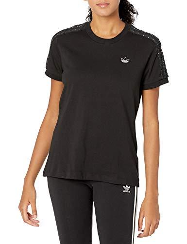 adidas Originals - Camiseta de baloncesto para mujer -  Negro -  Large