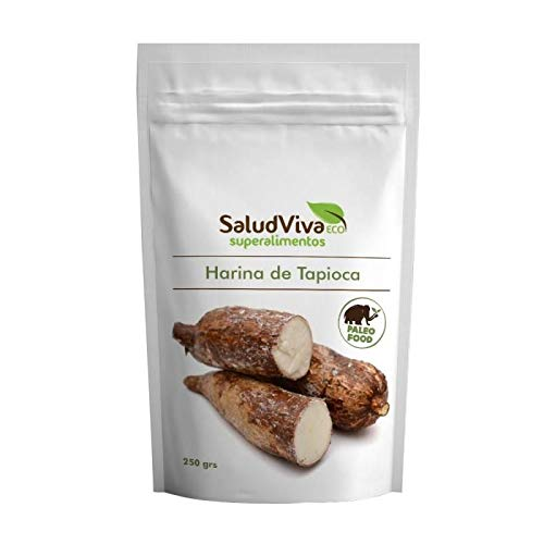 Salud Viva Harina de Tapioca Bio 250 gramos