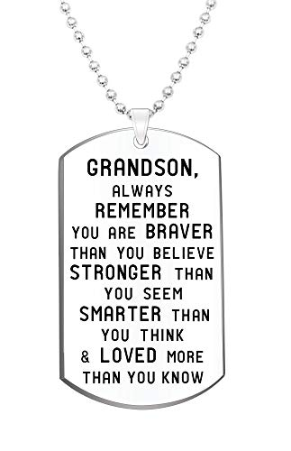 Always Remember You are Brave Necklace