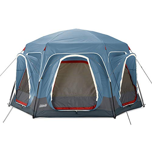 Coleman 6-Person Connectable Tent | Connecting Tent System with Fast Pitch Setup, Blue