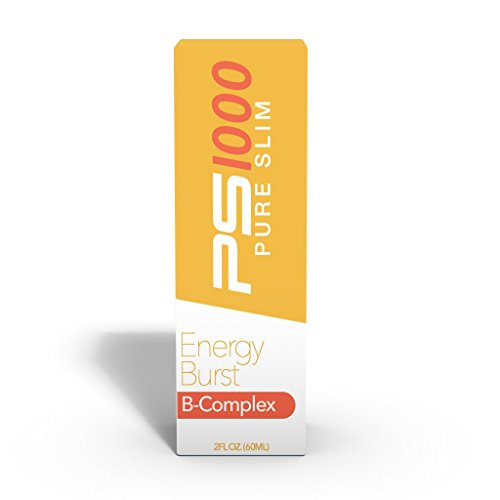 Liquid B-Complex Supplement by PS1000 - Help improving energy, healthy functioning of the metabolism and general wellness of the body