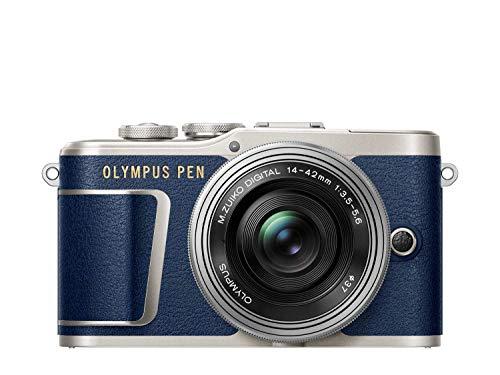 """Olympus Pen E-PL 9 + 14-42mm EZ MILC 16,1 MP 4/3"""" Live Mos 4608 x 3456 Pixeles Azul - Cámara Digital (16,1 MP, 4608 x 3456 Pixeles, Live Mos, 4K Ultra HD, Pantalla táctil, Azul)"""