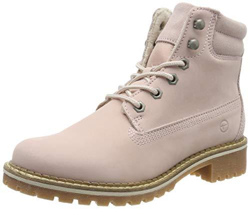 Tamaris Damen 1-1-25242-23 Combat Boots, Pink (Lt.Pink 644), 40 EU