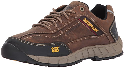 Caterpillar Men's Streamline Leather/Dark Beige Work Shoe, 10.5 M US