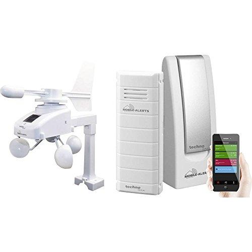 techno line MA 10045 Mobiele alerts MA 10045 Draadloos weerstation voorspelling voor 12 tot 24 uur
