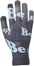 イチーナ スマートフォン(スマホ)対応 タッチパネル対応手袋 ピタクロタッチプリント 英字 (メンズ&レディース・フリーサイズ)
