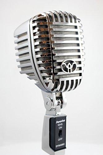 Superlux WH5 Micrófono Recto, para voces, instrumentos y percusión, Plateado