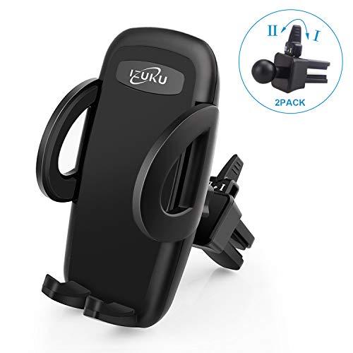 professionnel comparateur Support pour téléphone IZUKU avec ventilation [2 Pinces de Ventilation] Rotation à 360 °… choix