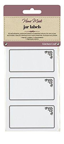 bolsa de 200 Kitchen Craft Home Made c/írculos encerado//discos para tarros de 0,9/kg