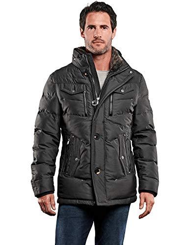 engbers Herren Sportive Jacke, 28043, Grün in Größe 64