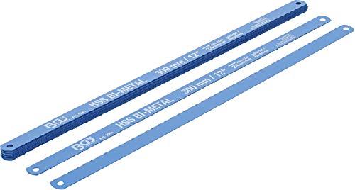 BGS 2061 | Lames de scies à métau | HSS flexible | 13 x 300 mm | 10 pièces