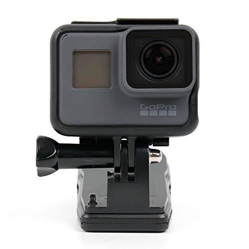 DURAGADGET Support Clip Rotatif 360° pour GoPro Hero4 Session (Black & Silver CHDHS-101-EU) Caméra embarquée 8 Mpix WiFi sans Fil - idéal pour Sac à Dos et Casquettes