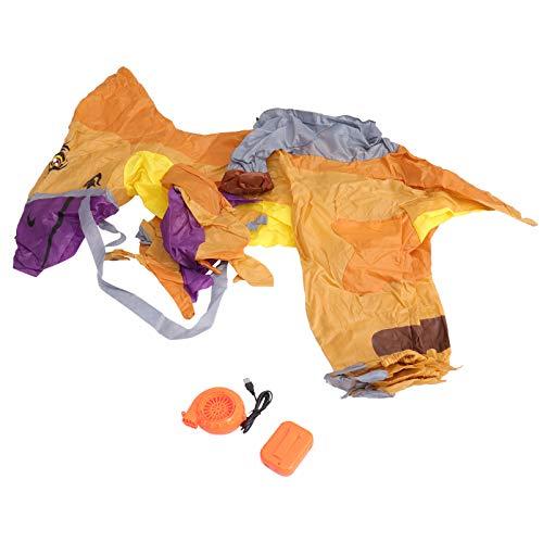 ABOOFAN Traje Inflable de Dinosaurio para Nios Traje Inflable de Dinosaurio Ropa de Dinosaurio Inflable para Nios Nias Juguetes de Fiesta sin Batera