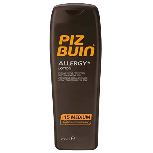 Piz Buin Allergie Sonnencreme Spf15(2er Pack) 2 X 200Ml JedesVorbeugung Stachelige Hitze