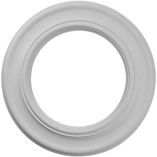 Carpintería CM Ekena 20HO 53,04 cm diámetro x 32,72 cm ID x 2,54 cm Holmdel medallón del techo