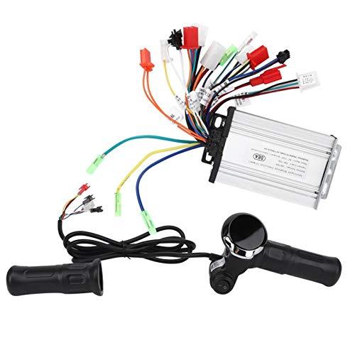 Acelerador de Bicicleta eléctrica, Controlador de Pantalla LCD de 6 Tubos con Tres Modos, Fuente de alimentación de 350 W en Tres Modos Accesorios de Bicicleta eléctrica para triciclos
