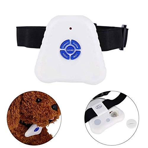 Collar Antiladridos Ultrasónico de Ladridos Automático Collar Antiladridos para Perros Recargable
