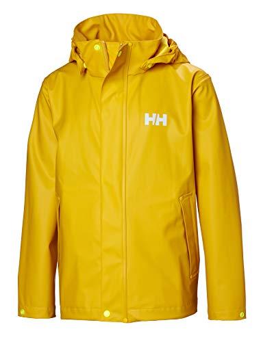 Helly Hansen Jungen Moss Regenjacke Shell Jacke, Essential Yellow, 12 EU