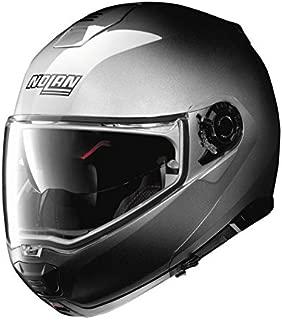 Nolan N100-5 Motorcycle Helmet Fade Silver Large