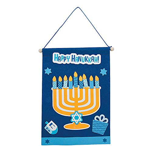 Hanukkah Banner Craft Kit - Crafts for Kids and Fun Home Activities